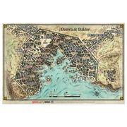 Dungeons and Dragons Mapa de Puerta de Baldur
