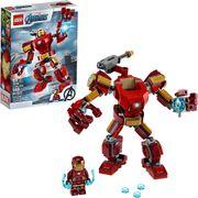 LEGO™ Marvel Avengers Iron Man Mech 76140 - Figura de superhéroe para niños, juguete de construcción con Iron Man Mech y Minifigure (148 piezas)