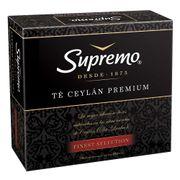 TÉ CEYLÁN PREMIUM (100 bolsitas) marca Supremo