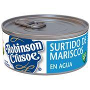 SURTIDO MARISCOS (190g) marca Robinson Crusoe