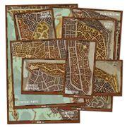 Dungeons and Dragons Set de mapas de los distritos de Waterdeep