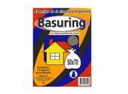 BOLSA BASURA  50x70 (10u) marca Basuring