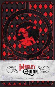 portada Harley Quinn Hardcover Ruled Journal (libro en Inglés)