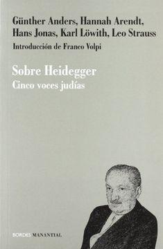 portada Sobre Heidegger