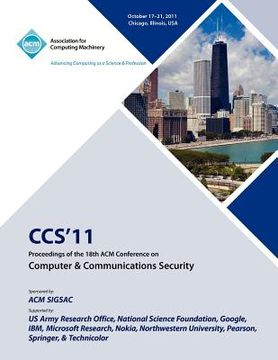 portada ccs'11 proceedings of the 18th acm conference on computer & communications security