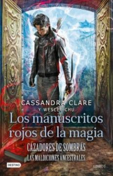 portada Los Manuscritos Rojos de la Magia i Cazadores de Sombras