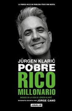 portada Jurgen Klaric Pobre Rico Millonario