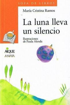 portada Luna Lleva un Silencio la    Naranja