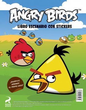 ANGRY BIRDS LIBRO ESCENARIO