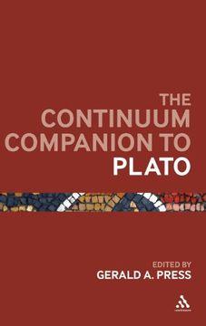 portada The Continuum Companion to Plato (libro en Inglés)