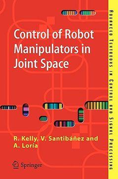 portada control of robot manipulators in joint space