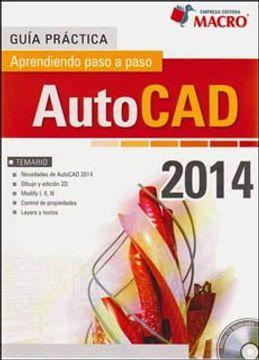 portada Guia Practica. Autocad 2014 Aprendiendo Paso a Paso (Incluye cd)