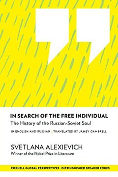 portada In Search of the Free Individual: The History of the Russian-Soviet Soul (Distinguished Speakers Series) (libro en Inglés)