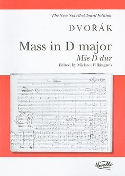 portada Mass In D Major, Mse D Dur, Op. 86: For Soprano, Alto, Tenor And Bass Soloists, SATB And Organ Or SATB (With Optional Soloists) And Orchestra (libro en Inglés)