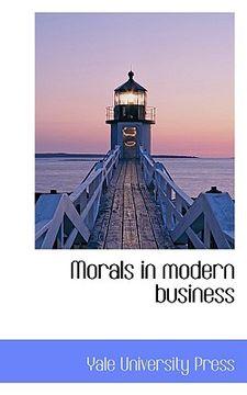 portada morals in modern business