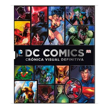 portada Dc Comics Cronica Visual Definitiva