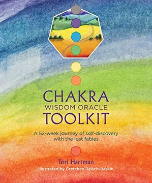 portada Chakra Wisdom Oracle Toolkit (libro en Inglés)