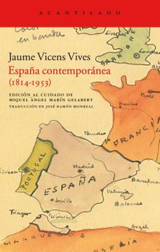 portada España Contemporanea (1814-1953)