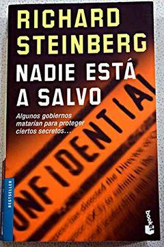 "portada Nadie esta a salvo (""booket"")"
