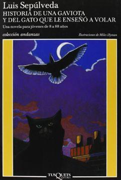 portada Historia de una Gaviota y del Gato que le Enseño