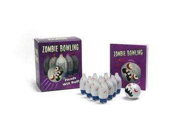 portada Zombie Bowling: Heads Will Roll! (Running Press Mega Mini Kits) (libro en Inglés)