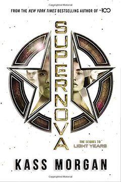 portada Supernova (Light Years) (libro en Inglés)