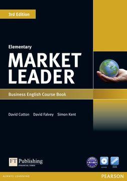 portada Market Leader 3rd Edition Elementary Coursebook & Dvd-Rom Pack (libro en inglés)