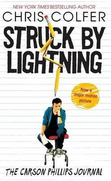 portada struck by lightning: the carson phillips journal. chris colfer
