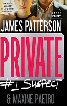portada Private: #1 Suspect (Jack Morgan Series) (libro en Inglés)