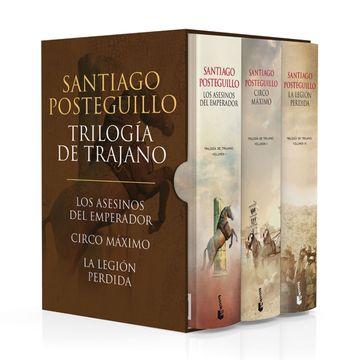 portada Estuche Trilogía de Trajano