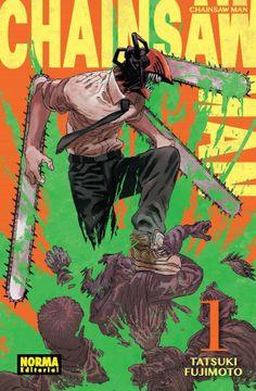 portada Chainsaw man 1