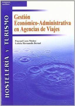 portada Gestión Económico-Administrativa en Agencias de Viajes