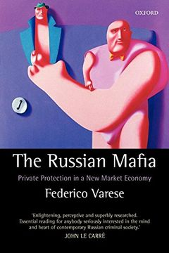 portada The Russian Mafia: Private Protection in a new Market Economy (libro en Inglés)