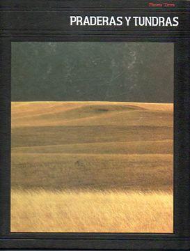 portada planeta tierra. praderas y tundras.