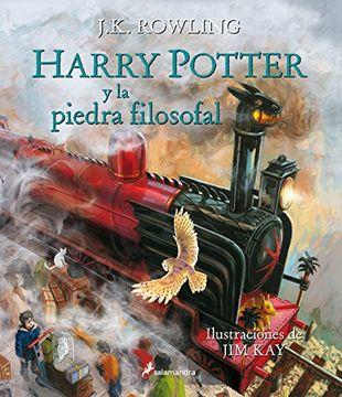 portada Harry Potter y la Piedra Filosofal Ilustrado