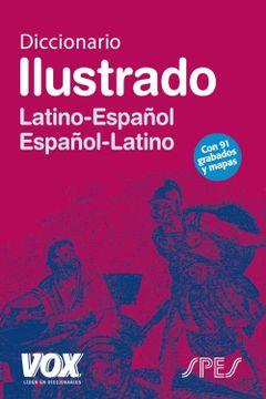 portada Diccionario Ilustrado Latín. Latino-Español (libro en Inglés)