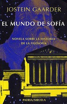 portada Mundo de Sofia el