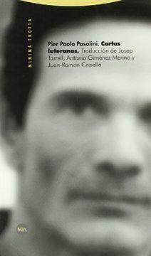 portada Cartas Luteranas - 2ª Edición (Minima Trotta)
