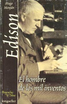 portada Edison: El Hombre de los mil Inventos