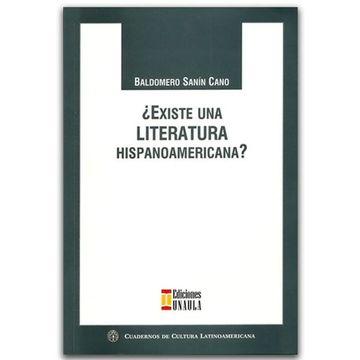 portada Existe una Literatura Hispanoamericana?