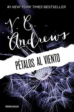 portada Pétalos al Viento / Petals in the Wind (Spanish Edition)