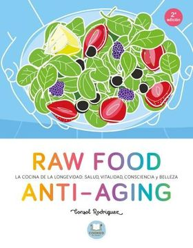 portada Raw Food Anti-Aging (Cooked by Urano)