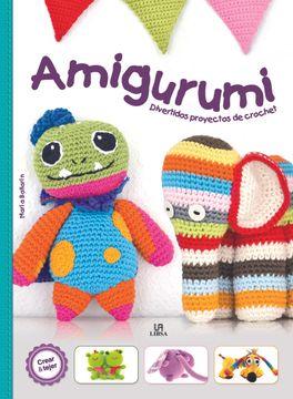 portada Amigurumi. Diverdios Proyectos de Crochet (Crear y Tejer)