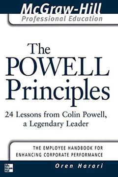 portada The Powell Principles: 24 Lessons From Colin Powell, a Legendary Leader (The Mcgraw-Hill Professional Education Series) (libro en inglés)