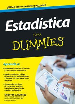 portada Estadística Para Dummies