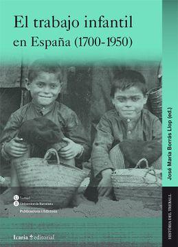 portada El Trabajo Infantil en España (1700-1950)