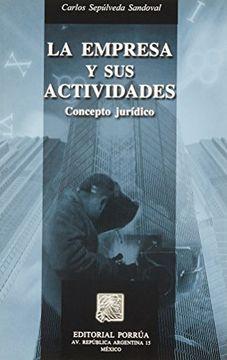 portada empresa y sus actividades, la