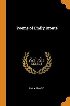 portada Poems of Emily Brontë (libro en Inglés)