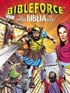 portada Bibleforce: La Primera Biblia de Héroes