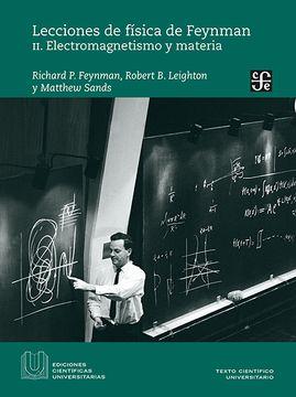 portada Lecciones de Fisica de Feynman ii: Electromagnetismo y Materia